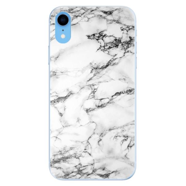 Odolné silikonové pouzdro iSaprio - White Marble 01 - iPhone XR