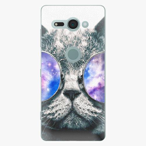Plastový kryt iSaprio - Galaxy Cat - Sony Xperia XZ2 Compact
