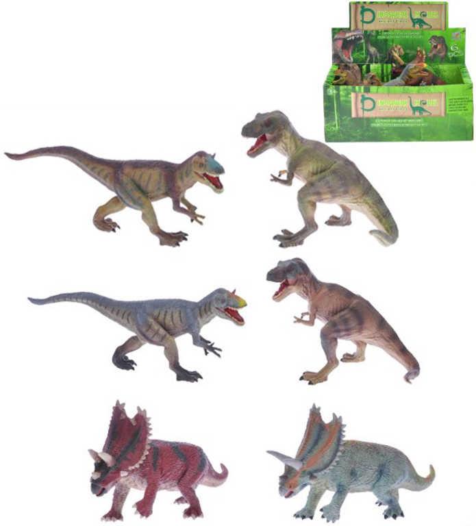 Dinosaurus 20-30cm plastový ještěr různé druhy a barvy