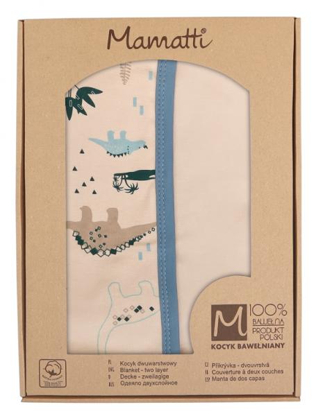 mamatti-detska-oboust-bavl-deka-80-x-90-cm-v-dark-krabicce-dinosaurus-kremova