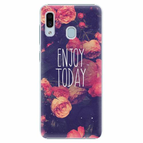 Plastový kryt iSaprio - Enjoy Today - Samsung Galaxy A30