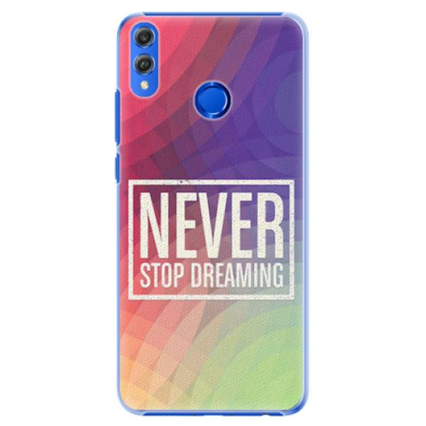 Plastové pouzdro iSaprio - Dreaming - Huawei Honor 8X
