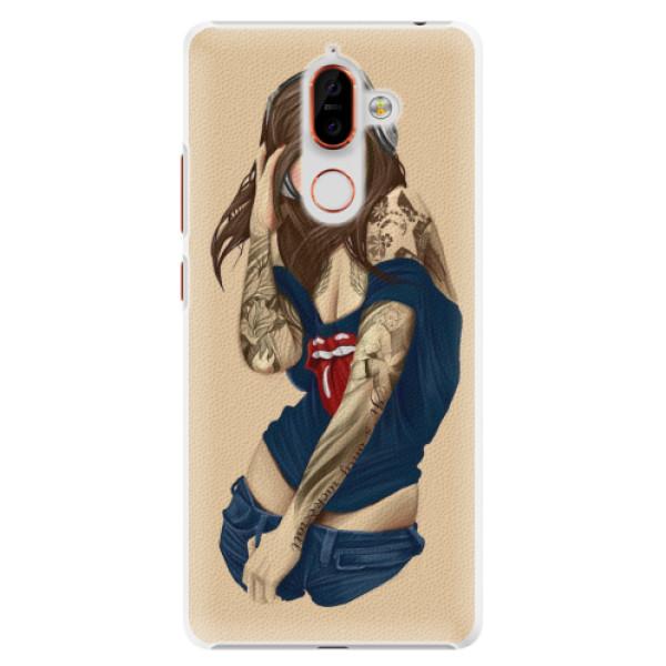 Plastové pouzdro iSaprio - Girl 03 - Nokia 7 Plus