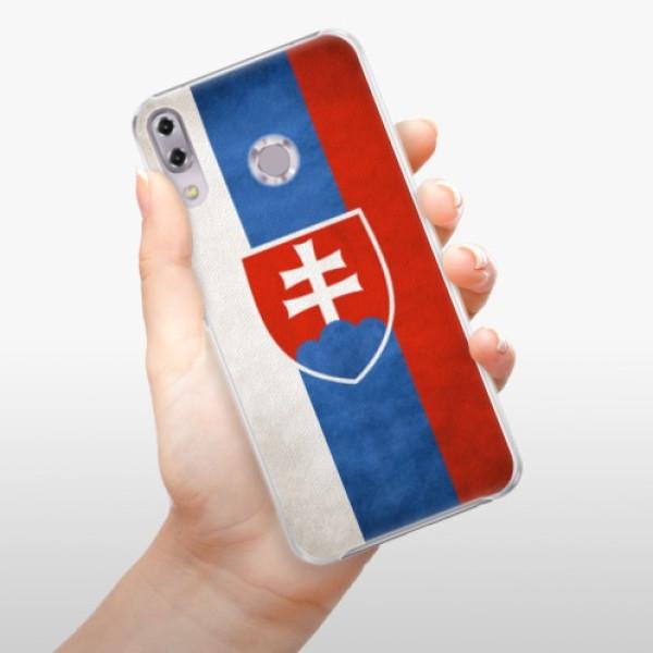 Plastové pouzdro iSaprio - Slovakia Flag - Asus ZenFone 5Z ZS620KL