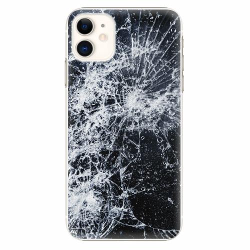 Plastový kryt iSaprio - Cracked - iPhone 11