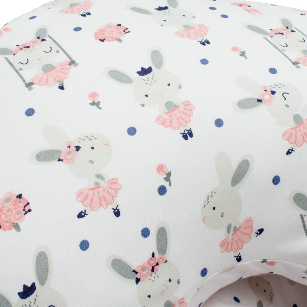 Kojící polštář New Baby králíček - bílá
