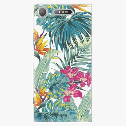 Plastový kryt iSaprio - Tropical White 03 - Sony Xperia XZ1
