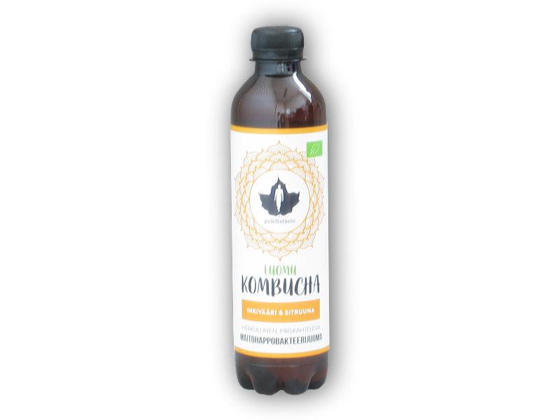 Kombucha BIO ginger lemon 370ml