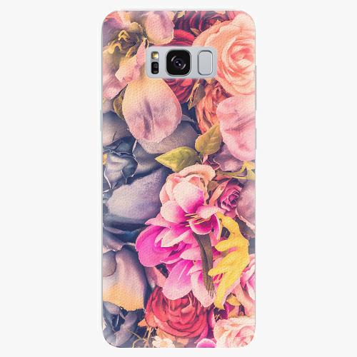 Plastový kryt iSaprio - Beauty Flowers - Samsung Galaxy S8 Plus