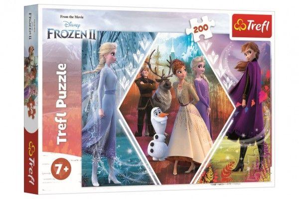 Puzzle Ledové království II/Frozen II 48 x 34 cm 200 dílků