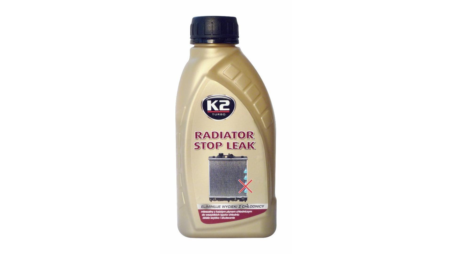 K2 RADIATOR STOP LEAK 400ml - utěsňovač chladiče a chladicího systému