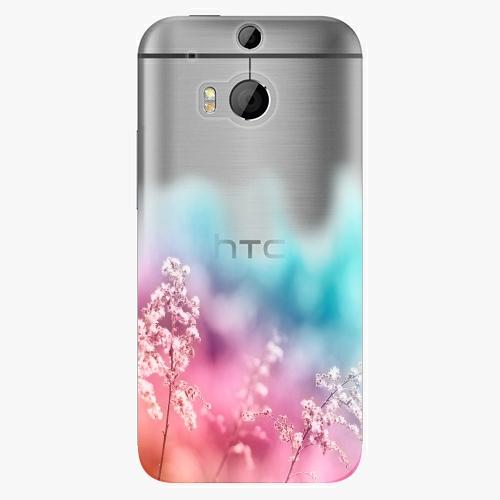 Plastový kryt iSaprio - Rainbow Grass - HTC One M8