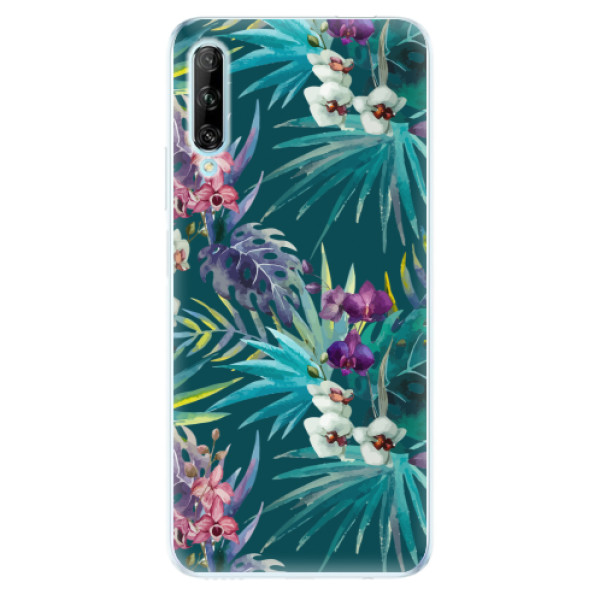 Odolné silikonové pouzdro iSaprio - Tropical Blue 01 - Huawei P Smart Pro