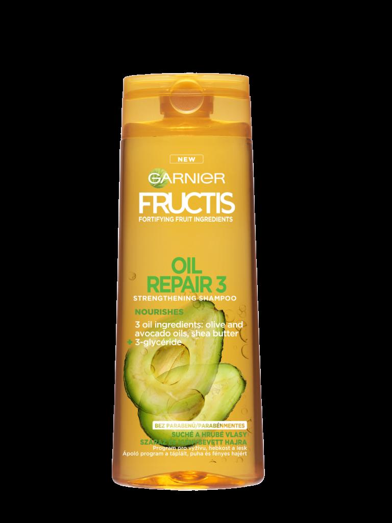 Fructis Garnier Oil Repair 3 posilující šampon 250 ml