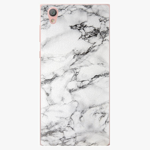 Plastový kryt iSaprio - White Marble 01 - Sony Xperia L1