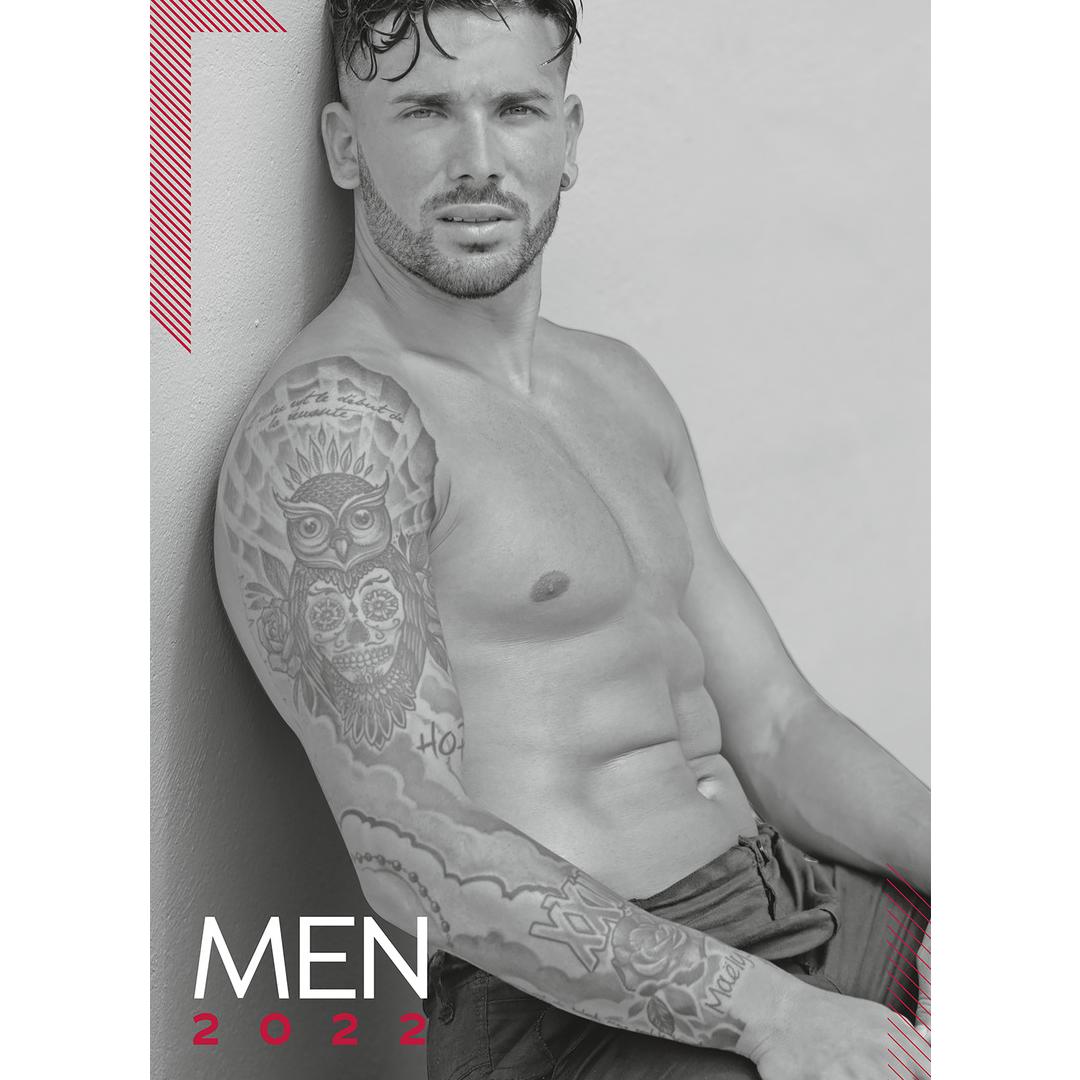 Kalendář Pin-up Calendar Soft Men 2022