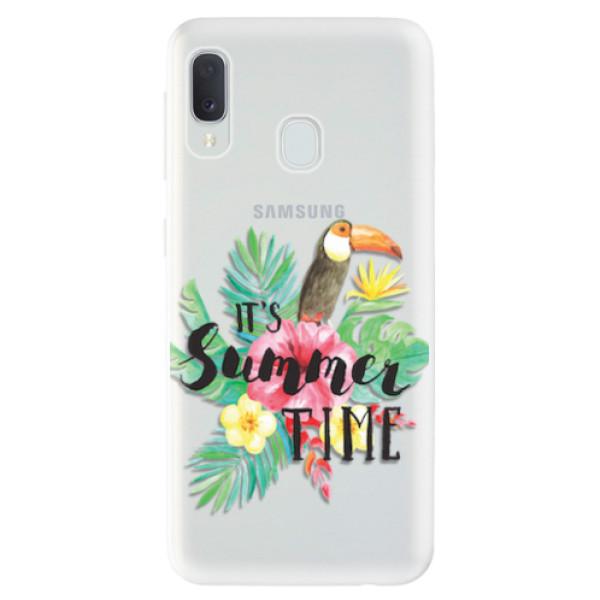 Odolné silikonové pouzdro iSaprio - Summer Time - Samsung Galaxy A20e