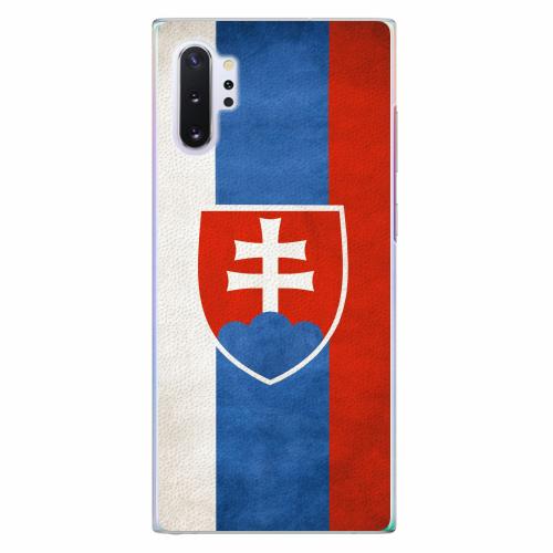 Plastový kryt iSaprio - Slovakia Flag - Samsung Galaxy Note 10+
