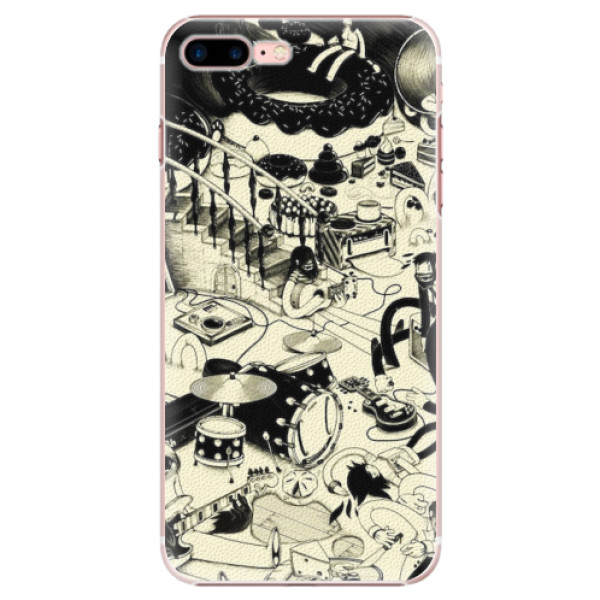 Plastové pouzdro iSaprio - Underground - iPhone 7 Plus