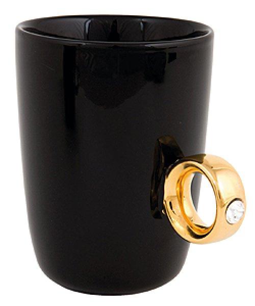 Porcelánový šálek - prsten