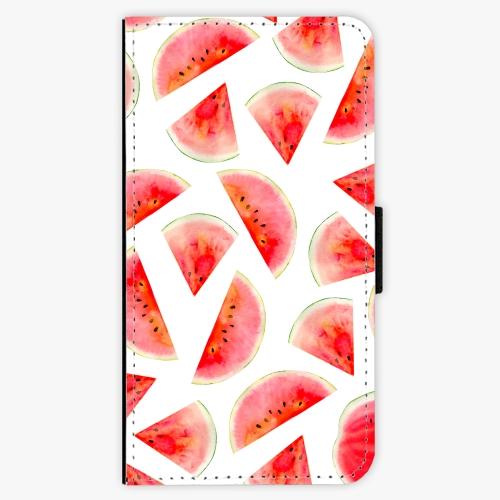 Flipové pouzdro iSaprio - Melon Pattern 02 - Samsung Galaxy S6