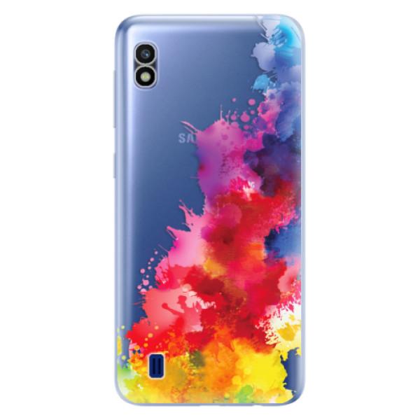 Odolné silikonové pouzdro iSaprio - Color Splash 01 - Samsung Galaxy A10