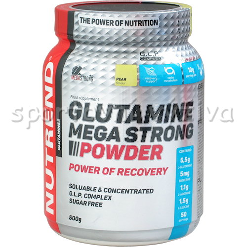 Glutamine Mega Strong Powder - 500g-hruska