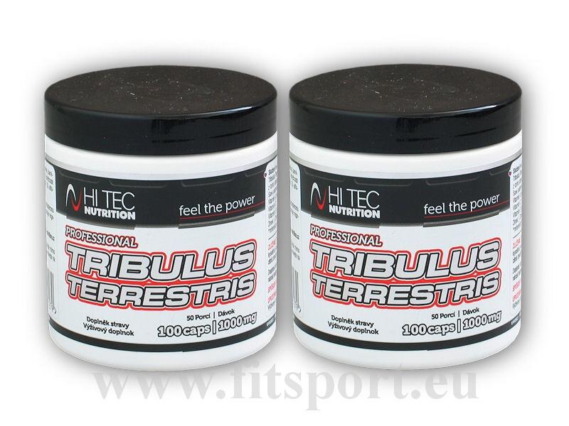 2x Tribulus Terrestris 1000mg 100cps