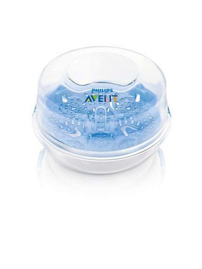 Sterilizátor do mikrovlnné trouby Avent - bílá