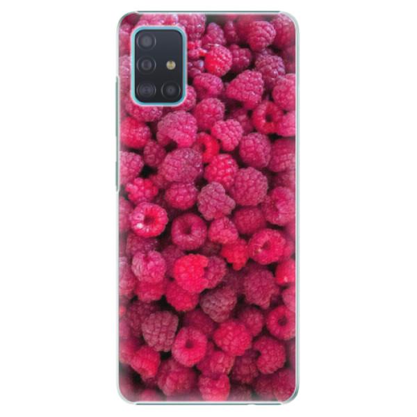 Plastové pouzdro iSaprio - Raspberry - Samsung Galaxy A51
