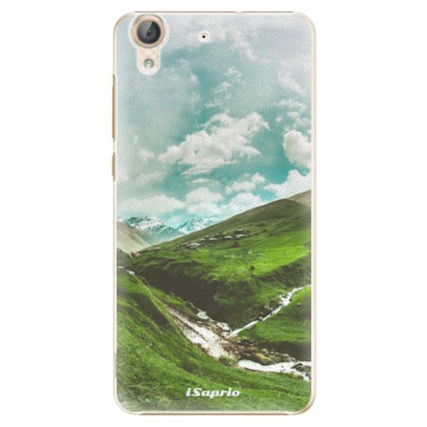 Plastové pouzdro iSaprio - Green Valley - Huawei Y6 II