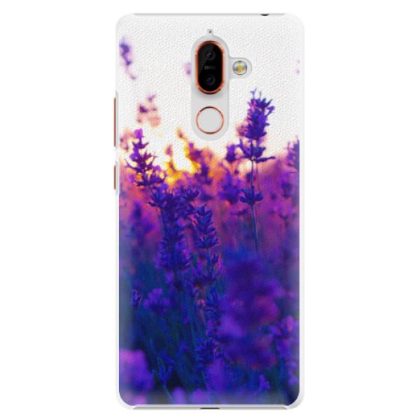 Plastové pouzdro iSaprio - Lavender Field - Nokia 7 Plus