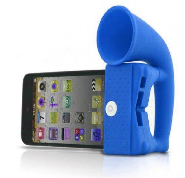 Stojánek se zesilovačem pro iPhone4