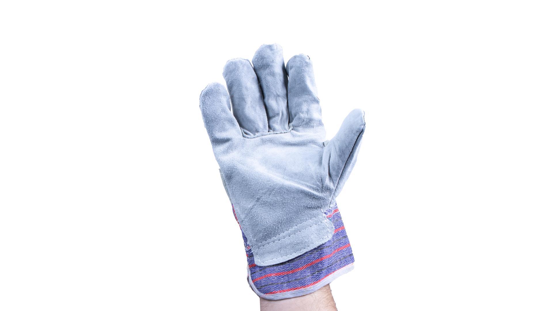 4CARS Pracovní rukavice - kožené