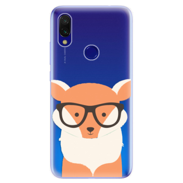 Odolné silikonové pouzdro iSaprio - Orange Fox - Xiaomi Redmi 7