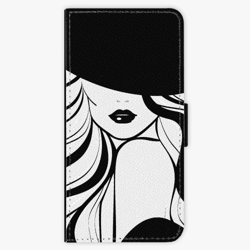 Flipové pouzdro iSaprio - First Lady - Samsung Galaxy A3 2017