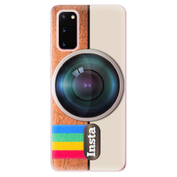 Odolné silikonové pouzdro iSaprio - Insta - Samsung Galaxy S20