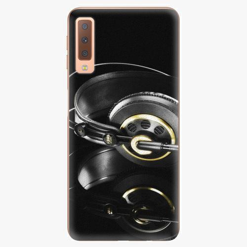 Plastový kryt iSaprio - Headphones 02 - Samsung Galaxy A7 (2018)