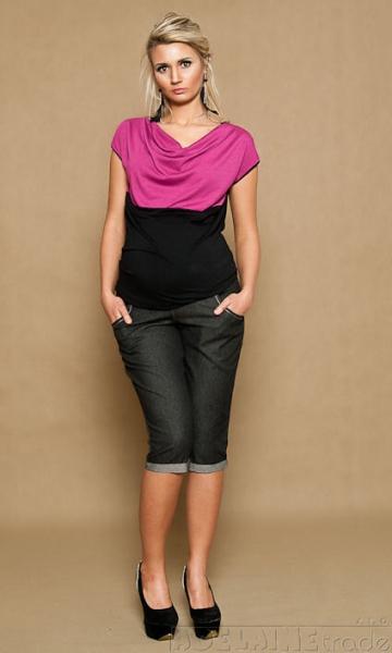 be-maamaa-tehotenske-jeans-3-4-cerne-xxl-44