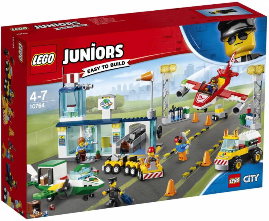 LEGO JUNIORS Hlavní městské letiště 10764 STAVEBNICE