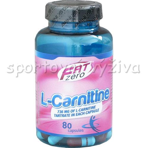 Fat Zero L-Carnitine 80 kapslí