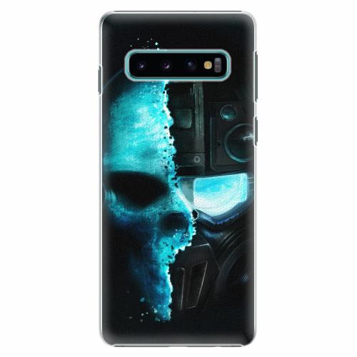 Plastový kryt iSaprio - Roboskull - Samsung Galaxy S10