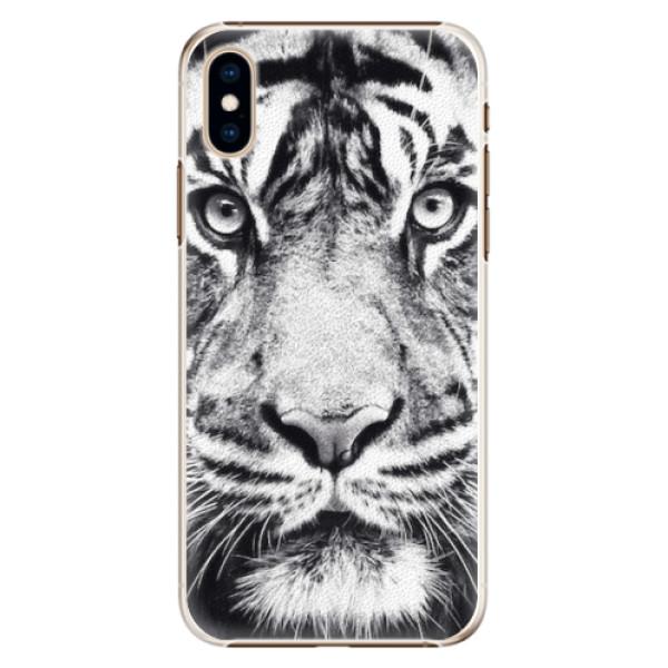 Plastové pouzdro iSaprio - Tiger Face - iPhone XS