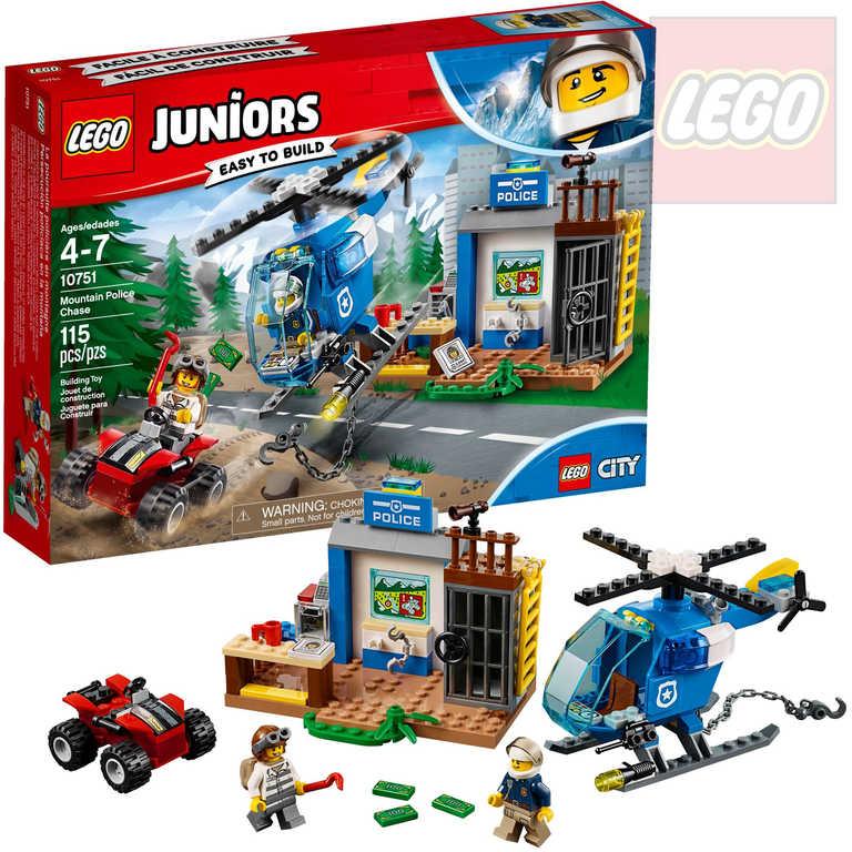 LEGO JUNIORS Policejní honička v horách STAVEBNICE 10751