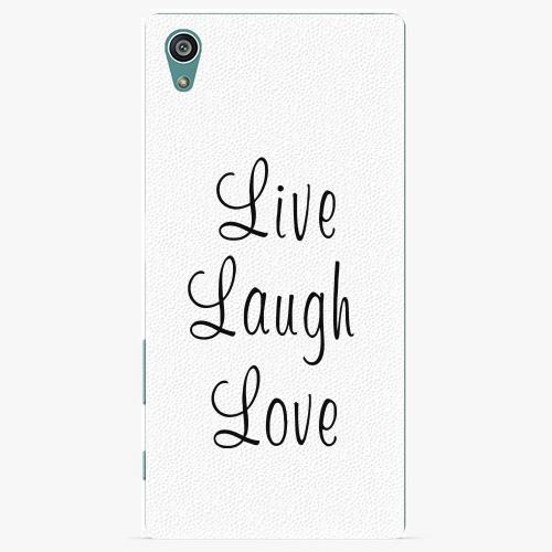 Plastový kryt iSaprio - Live Laugh Love - Sony Xperia Z5