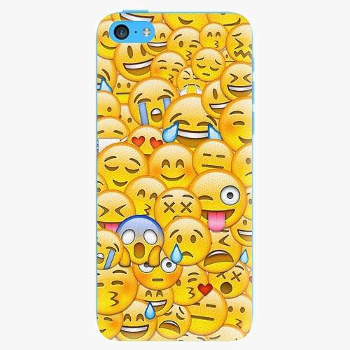 Plastový kryt iSaprio - Emoji - iPhone 5C