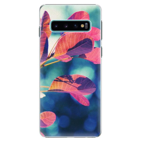 Plastové pouzdro iSaprio - Autumn 01 - Samsung Galaxy S10