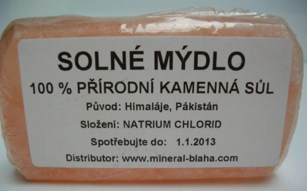 Mýdlo solné pleťové - 200g