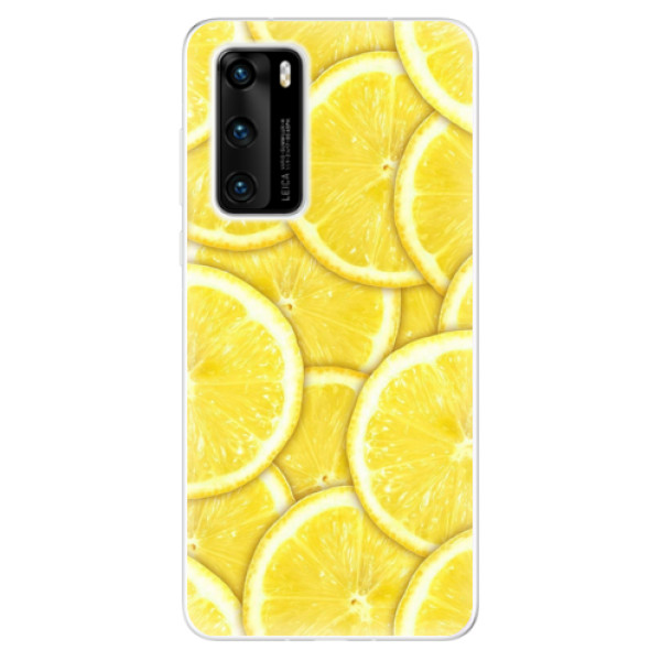 Odolné silikonové pouzdro iSaprio - Yellow - Huawei P40