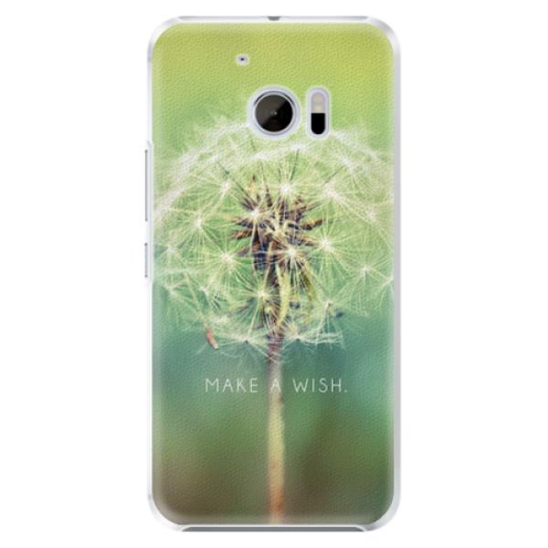 Plastové pouzdro iSaprio - Wish - HTC 10